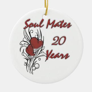 El alma acopla 20 años adorno de reyes