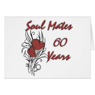 El alma acopla 60 años felicitaciones