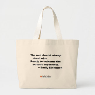 El alma debe colocarse siempre entornada bolsa