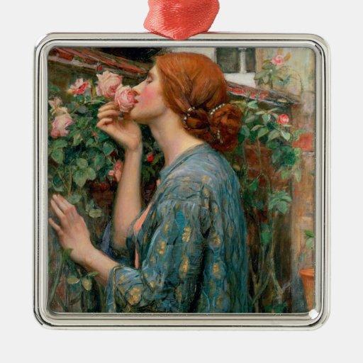 El alma del color de rosa, 1908 adorno de navidad