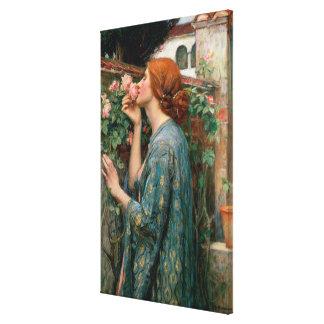 El alma del color de rosa 1908 impresión de lienzo
