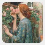 El alma del color de rosa, 1908 colcomanias cuadradases