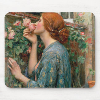El alma del color de rosa 1908 alfombrillas de raton