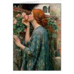 El alma del color de rosa, 1908 tarjeta