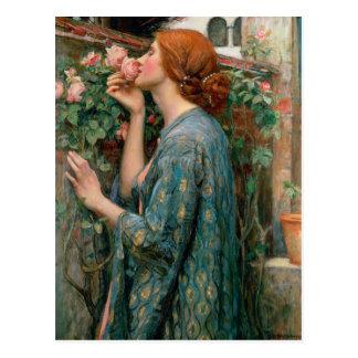 El alma del color de rosa - John William Postal