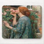 El alma del color de rosa - John William Waterhous Tapete De Ratones
