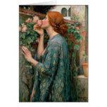 El alma del color de rosa - John William Waterhous Tarjetas