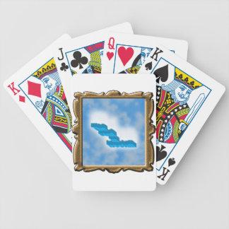 El alma en caída libre baraja cartas de poker