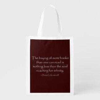 El alma que alcanza para el infinito bolsas para la compra