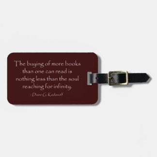 El alma que alcanza para el infinito etiquetas para maletas