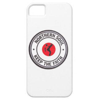 El alma septentrional guarda el diseño de la fe iPhone 5 Case-Mate protectores