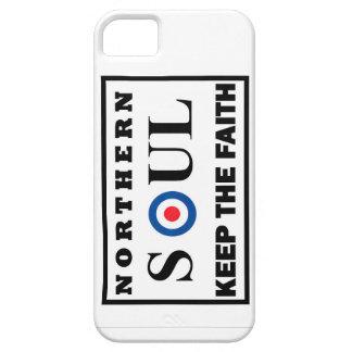 El alma septentrional guarda el diseño de la fe iPhone 5 Case-Mate carcasa