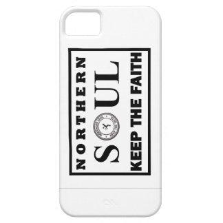 El alma septentrional guarda el diseño de la fe iPhone 5 cárcasa