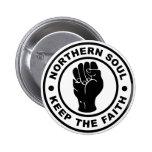 El alma septentrional guarda la fe chapa redonda 5 cm