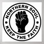 El alma septentrional guarda la fe posters