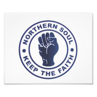 El alma septentrional guarda los lemas de la fe y impresiones fotográficas