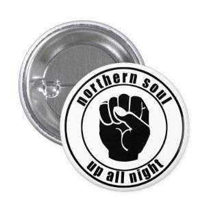 El alma septentrional remienda todo el botón de la pin