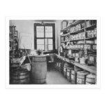 El almacén mural del estudio, de los talleres de tarjetas postales