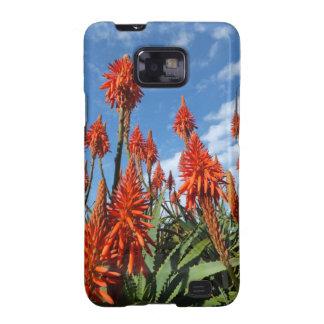 El áloe Arborescens Samsung encajona Samsung Galaxy SII Funda