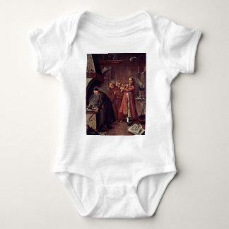 El alquimista de Longhi Pedro (la mejor calidad) Body Para Bebé
