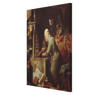 El alquimista impresión en tela