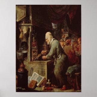 El alquimista póster