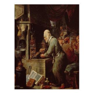 El alquimista tarjeta postal