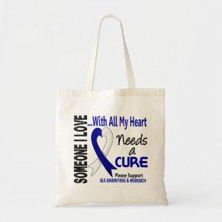 El ALS necesita una curación 3 Bolsa Tela Barata