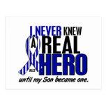El ALS nunca conocía a un hijo del héroe 2 Postal