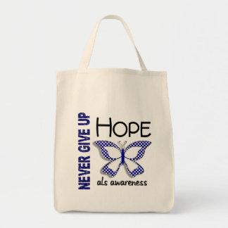 El ALS nunca da para arriba la mariposa 4,1 de la  Bolsa Tela Para La Compra
