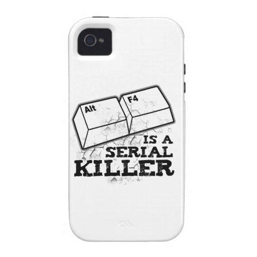 El Alt F4 es un asesino en serie iPhone 4/4S Carcasa