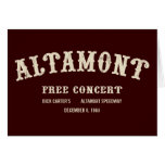 el altamont libera concierto felicitacion