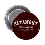el altamont libera concierto pins