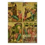 El altar de Buxtehude, la derecha, 1400-10 Tarjeta De Felicitación