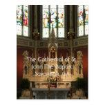 El altar de la catedral de St. John el Bautista Postales