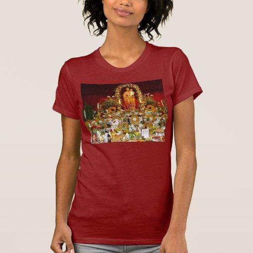 El altar de San José Camisetas