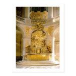 El altar en la capilla real (foto) tarjeta postal