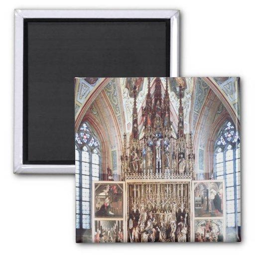 El Altarpiece 1471-81 del St. Wolfgang Imán Cuadrado