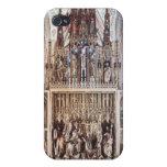 El Altarpiece 1471-81 del St. Wolfgang iPhone 4/4S Fundas