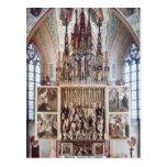 El Altarpiece 1471-81 del St. Wolfgang Tarjetas Postales