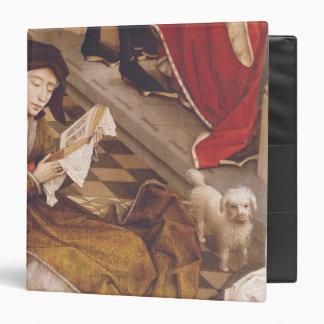 """El Altarpiece 2 de siete sacramentos Carpeta 1 1/2"""""""