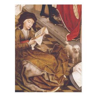 El Altarpiece 2 de siete sacramentos Postal