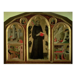 El Altarpiece bendecido de Agustín Novello Postales