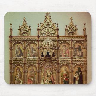 El Altarpiece de Demidoff, 1476 Tapetes De Raton