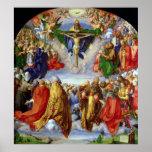 El Altarpiece de Landauer, Día de Todos los Santos Póster
