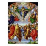 El Altarpiece de Landauer, Día de Todos los Santos Tarjetas