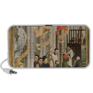 El Altarpiece de siete sacramentos Altavoces De Viaje