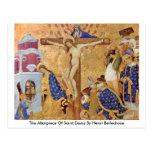 El Altarpiece del santo Denis de Enrique Bellechos Tarjeta Postal