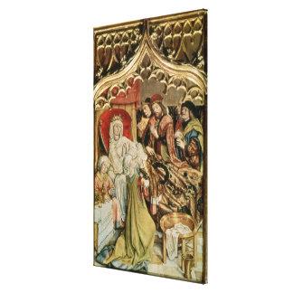 El Altarpiece del St. Elizabeth Impresión En Lienzo Estirada