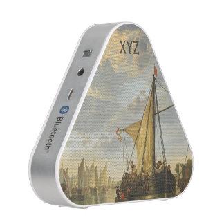 El altavoz de encargo de Bluetooth del monograma